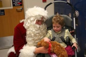Florence meets Santa
