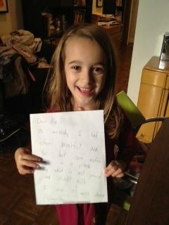 Thalia's letter