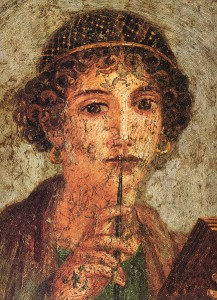sappho writing