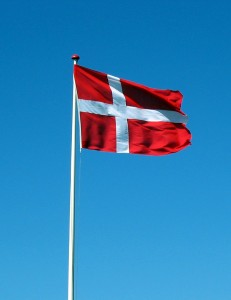 Danish Flag © 2004 by Tomasz Sienicki, tsca#sdf.lonestar.org - GFDL