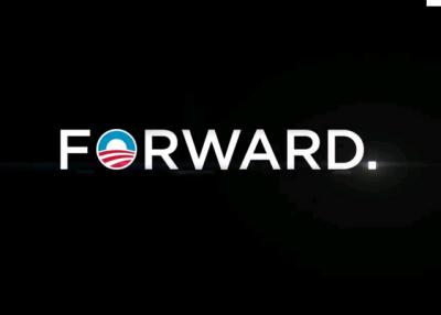 Obama. Forward.